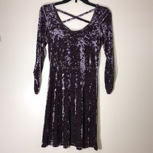 American Eagle Outfitter Velour shirt/tunic